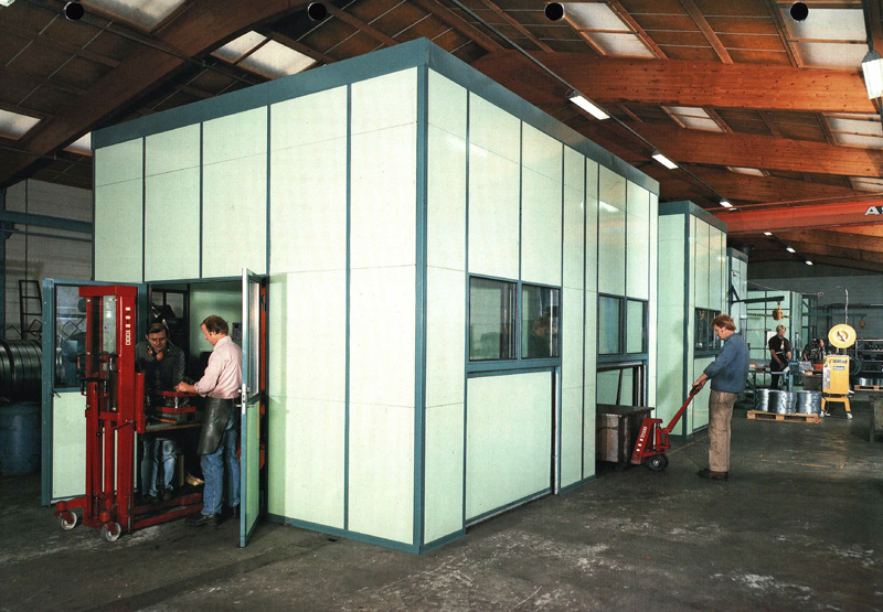glass vinduer med 48db